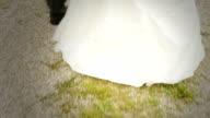 HD: Newlyweds Walking video