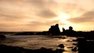 Newport Beach Sunset Time Lapse Video video