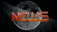 News broadcast design video