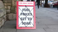 News Headline Board - Fuel prices set to soar video