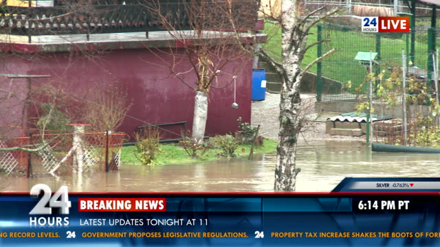 News Of Area Struck By Flood video
