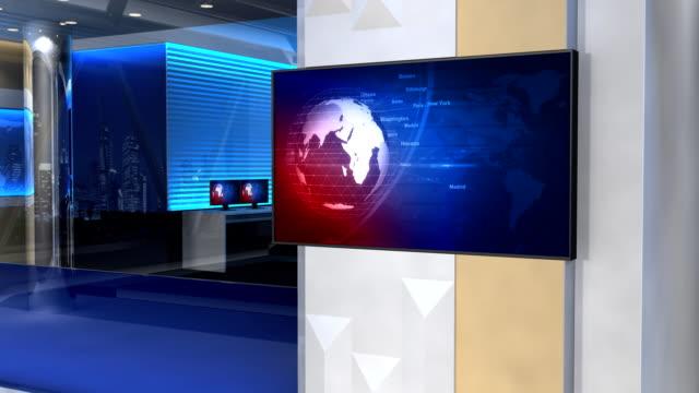 News studio video