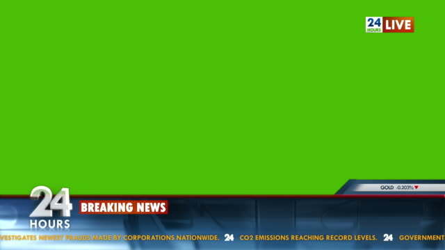 HD: TV News Template video
