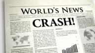 Newspaper Headline : Crush video
