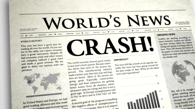 Newspaper Headline : Crush video