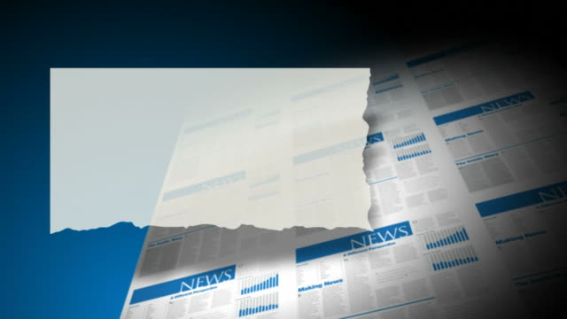 Newspaper or Magazine Pull-Quote Background Plate video