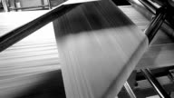 Newspaper printing video