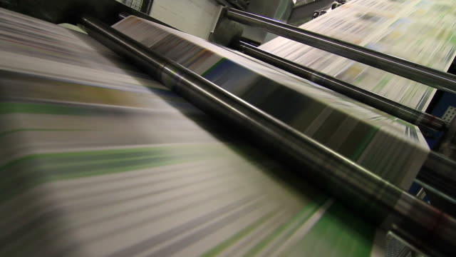 Newspaper Printing video