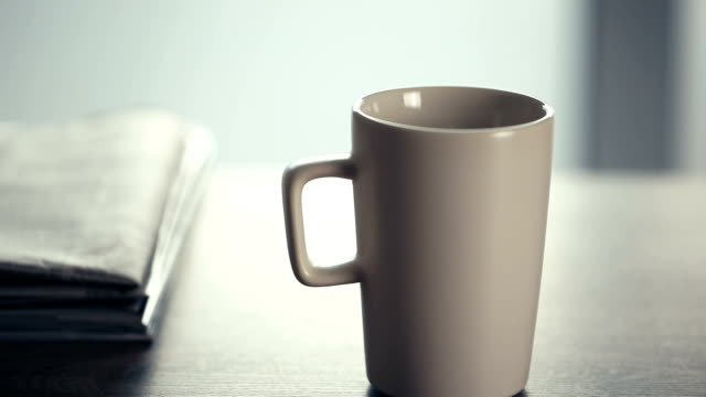 Newspapers and Coffee video