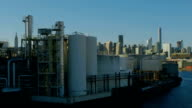 New-York industrial district video