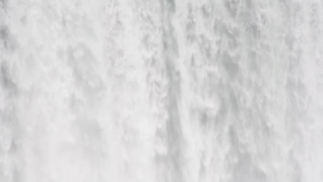 Niagara Falls. Wall of water. video