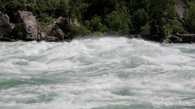 Niagara river rapids. video