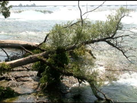 Niagara upper rapids 30 - NTSC with sound video