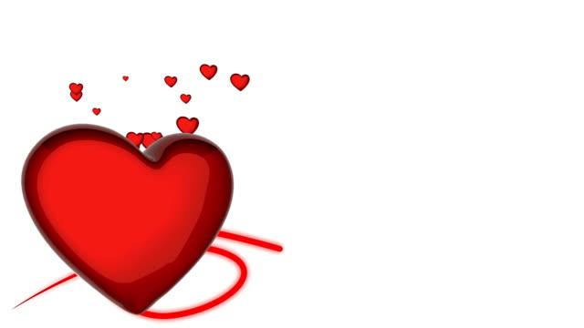 Nice looking 3D heart video