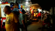 Night Bazaar Chiang Mai Thailand video