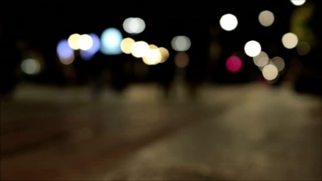 Night bokeh video
