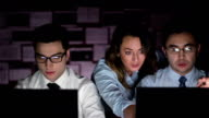 Night Business video