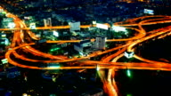 Night City Time Lapse. video