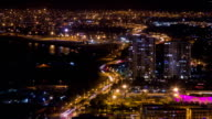 Night city traffic 02 / Time Lapse (Arica, Chile) video