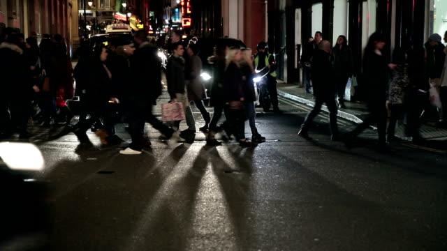 Night City traffic in London video