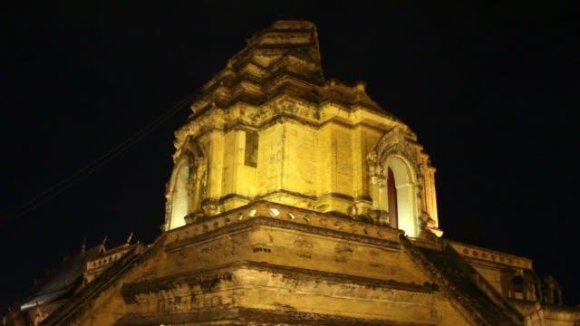 Night Clip of Jedi Luang Temple video