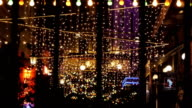 night club decorated with lights and adornments for celebretion 2 video