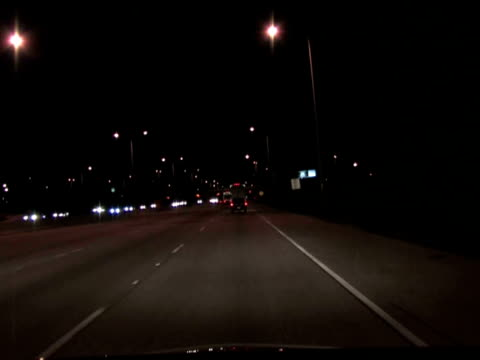 Night Drive Time Lapse video