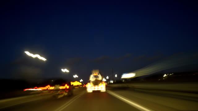 night drivelapse hd video