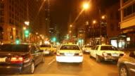Night Driving thru Chicago video