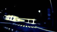 Night gas station video