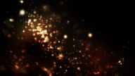 Night Glitter Loop - Orange/Red (1080) video