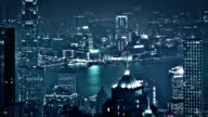 Night Hong Kong video