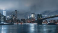 Night Hyperlapse from Brooklyn Bridge Park | New York City video