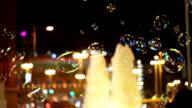 Night life in Barcelona video
