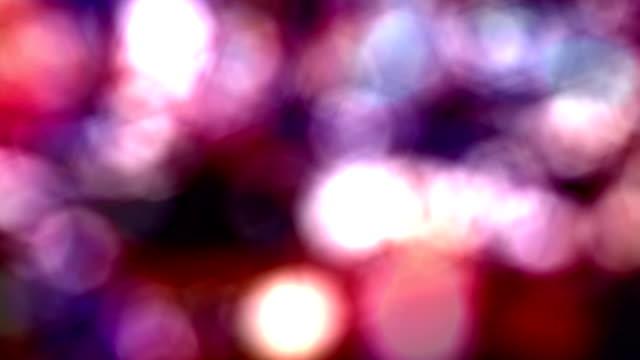 Night Lights Background video