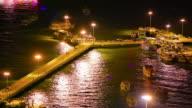 Night port video