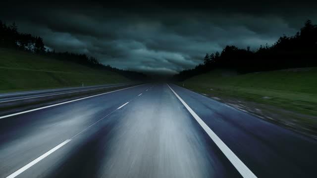 night road HD video