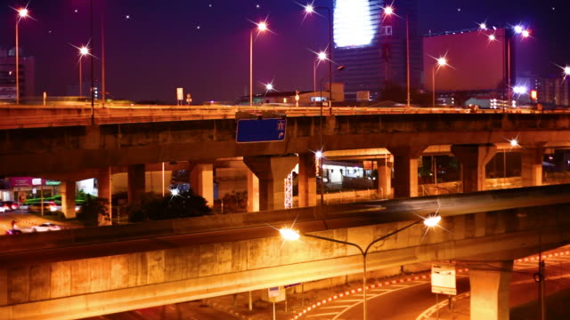 Night roads video