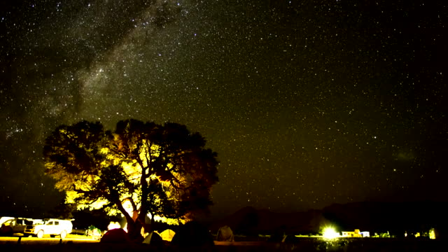 T/L Night Sky Over The Sesriem Campsite video