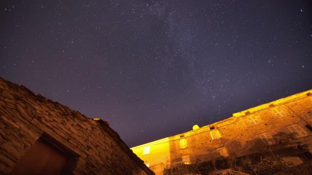 Night sky video
