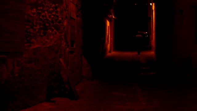 Night Solitaire Man Walking video