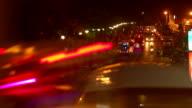 Night street video