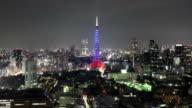 Night Time Lapse Tokyo Japan video