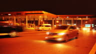 Night Toll Booth video