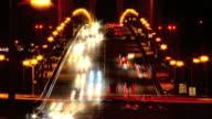 T/L Night traffic in San Francisco video