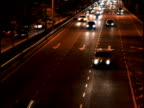 Night traffics video