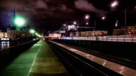 Night Trains Time Lapse video