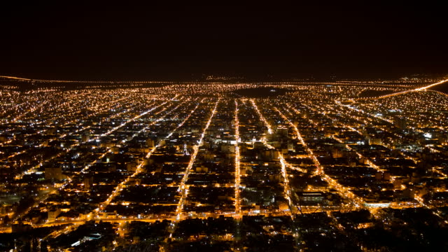 Night view of Salta video