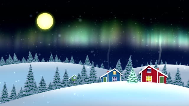 Night Village video