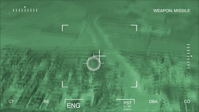 Night Vision Aerial Bombardment video